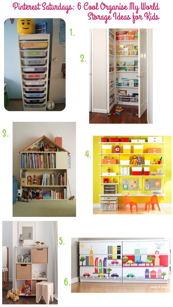 Pinterest Saturdays 6 Cool Organise My World Storage