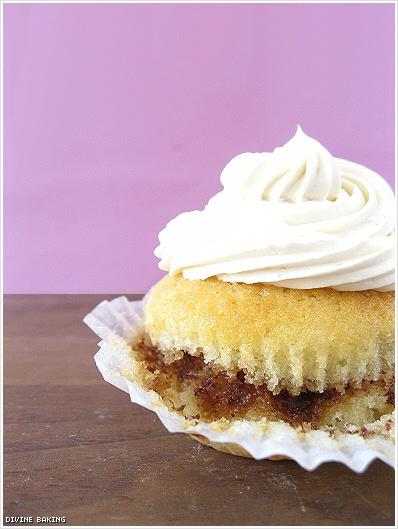 Cinnamon Swirl Cupcakes With Brown Sugar Swiss Meringue Buttercream