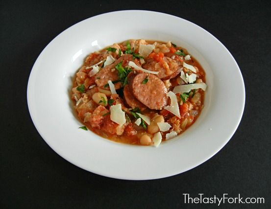 Smoked Pork Cassoulet Soup | Crock Pot | Pinterest