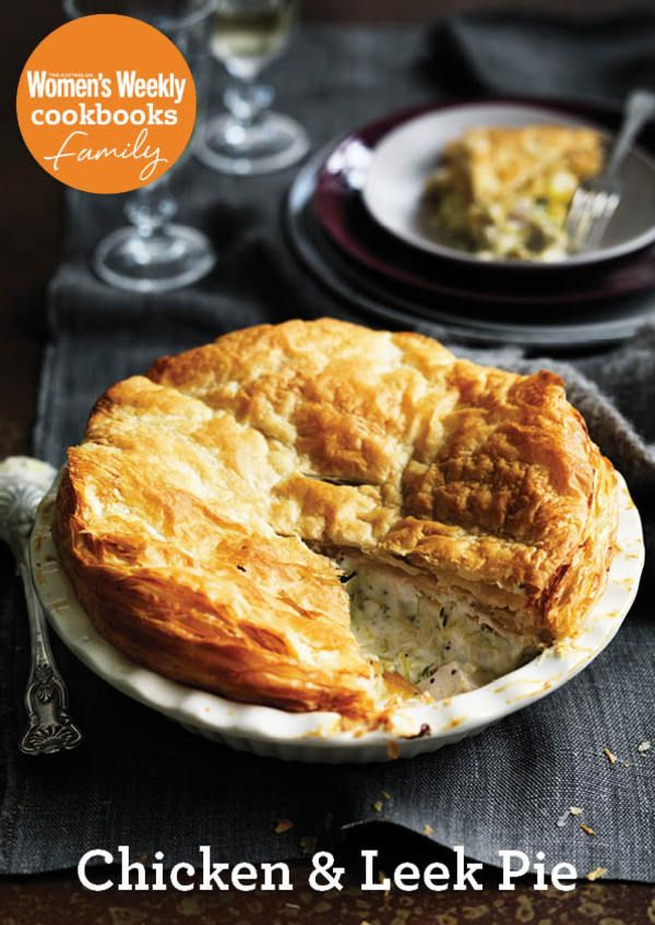 Chicken & leek pie | Food I'd Love To Try | Pinterest