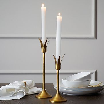 Lily Candleholders #westelm