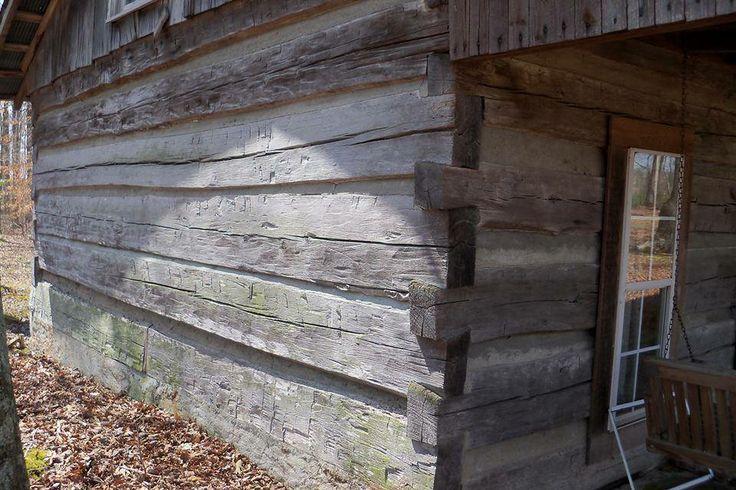 Log cabin autos weblog for Hand hewn log cabin