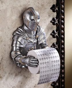 Coolest toilet paper roller ever.