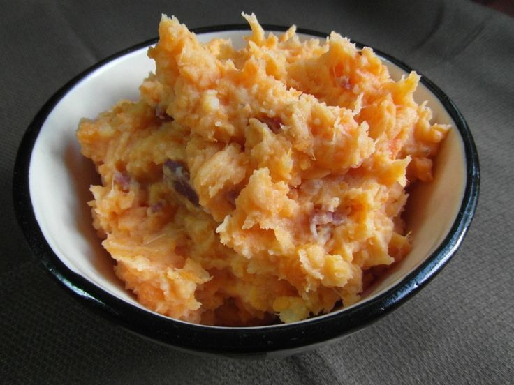 Parmesan & Bacon Sweet Potato Mash | Sweet Potato | Pinterest