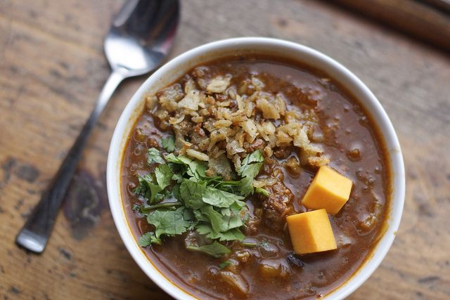 Black Bean, Butternut Squash, and Chorizo Soup