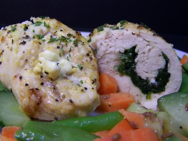 Spinach & Feta Stuffed Chicken Breasts | Recipe