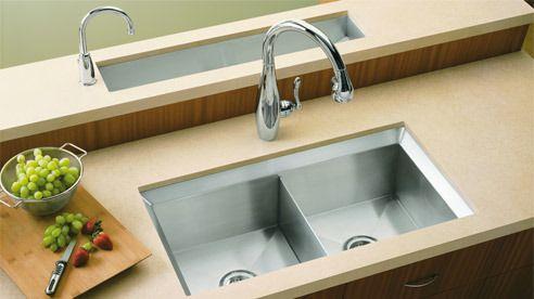 sink KOHLER Poise? Stainless Steel Kitchen Sinks Kitchen Sinks ...