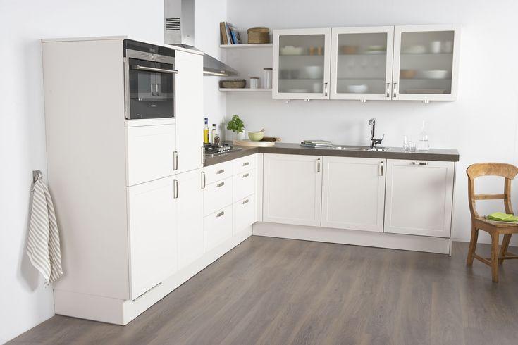 Moderne Bruynzeel Keuken Atlas Greeploos : Bruynzeel Romance keuken in ...