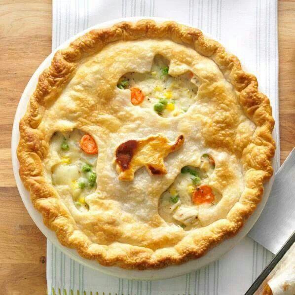 Perfect comfort food...chicken pot pie | Recipes | Pinterest