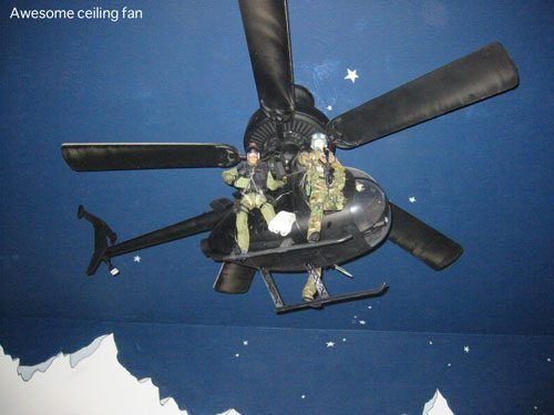 Awesome ceiling fan for a boys room the awesome pinterest Boys bedroom ceiling fans