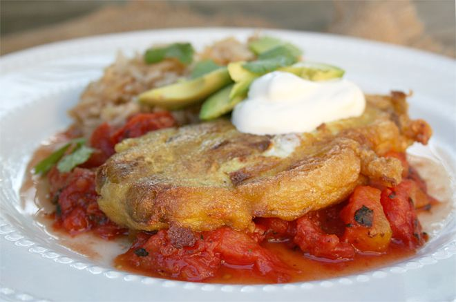 Recipe for Traditional, Mexican Chile Rellenos