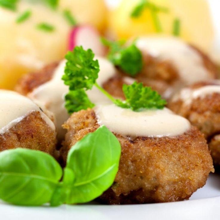 Frikadeller Danish Meatballs --> Recipe: http://grandmotherskitchen ...