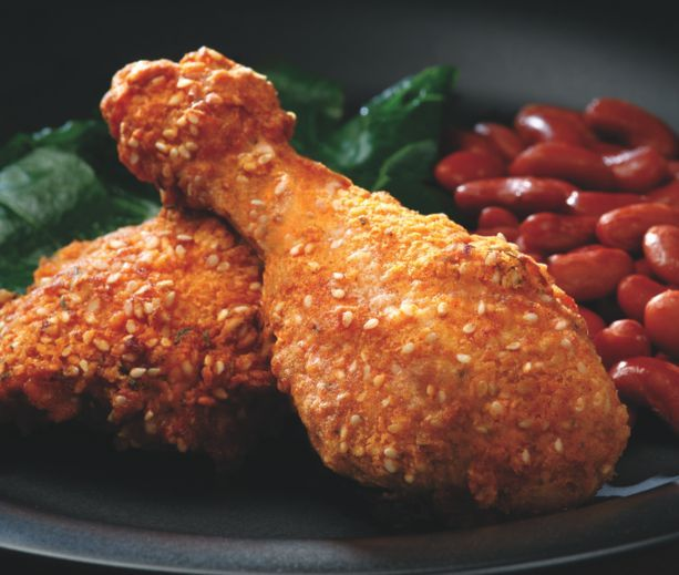 Oven-Fried Chicken | Low Carb & Low Calorie Savory | Pinterest