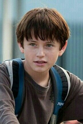 Nathan Gamble Brown Hair