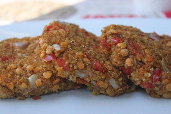 Quinoa and Sweet Potato Cakes | Recipe