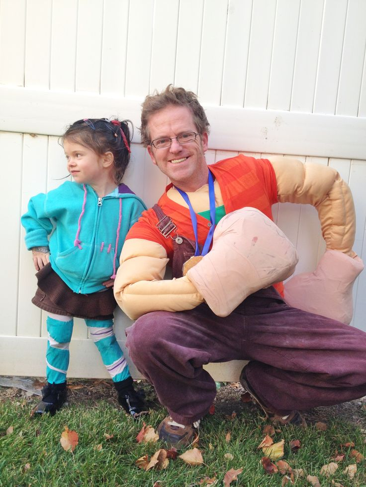 Wreck It Ralph DIY Halloween costume!