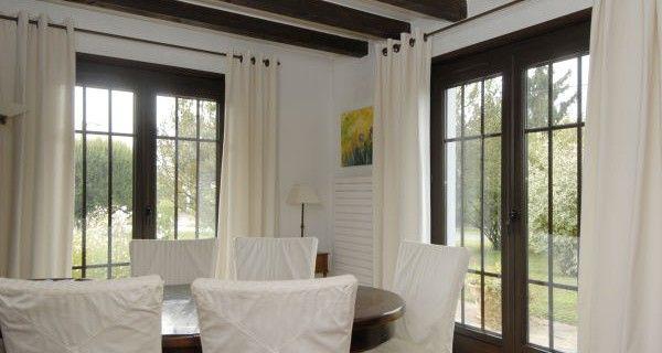 Fenetre couleur bois salon pinterest for Moisissure fenetre bois