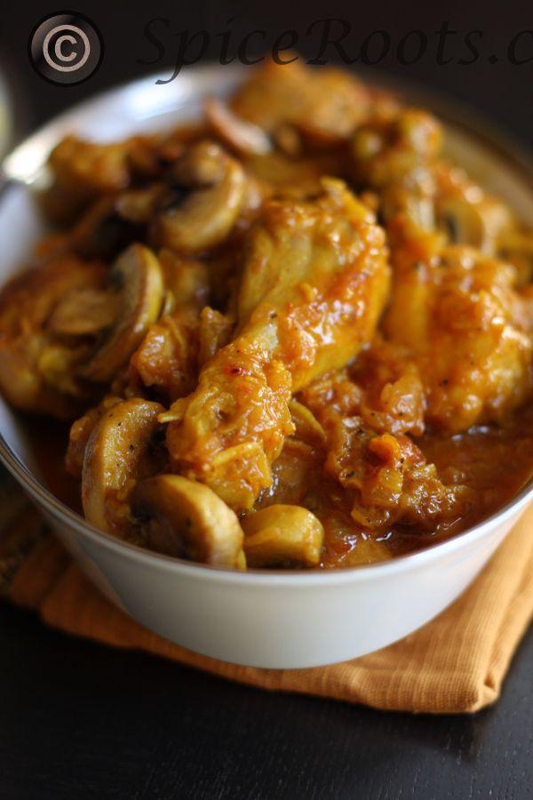 Chicken with Saffron and Mushrooms | #Healthy Chicken and Turkey Reci ...