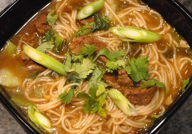 Chinese Cinnamon Beef Noodle Soup Recipe - Best ever recipe I've ...
