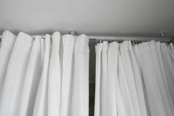 how to do track curtains from ikea | Home | Pinterest