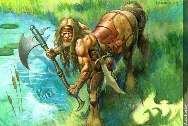 Centauro - Seres Mitológicos y Fantásticos