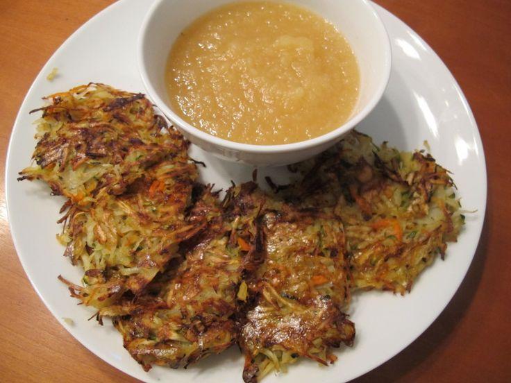 Baked Root Vegetable Pancakes   Recipe