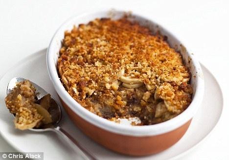 Recipe: Double apple brown betty