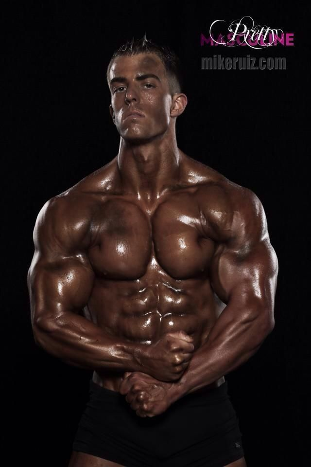 ... .com # hot guy pecs six pack abs adonis musculoso male fitness model