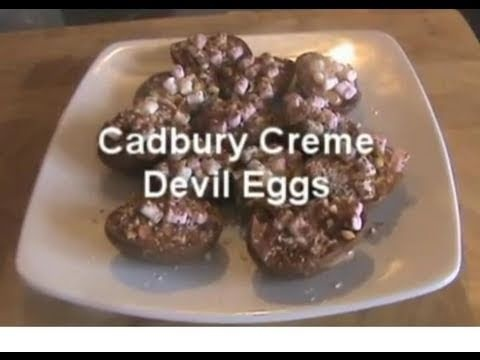 Cadburys Creme Devil Eggs | Sweet Recipes | Pinterest
