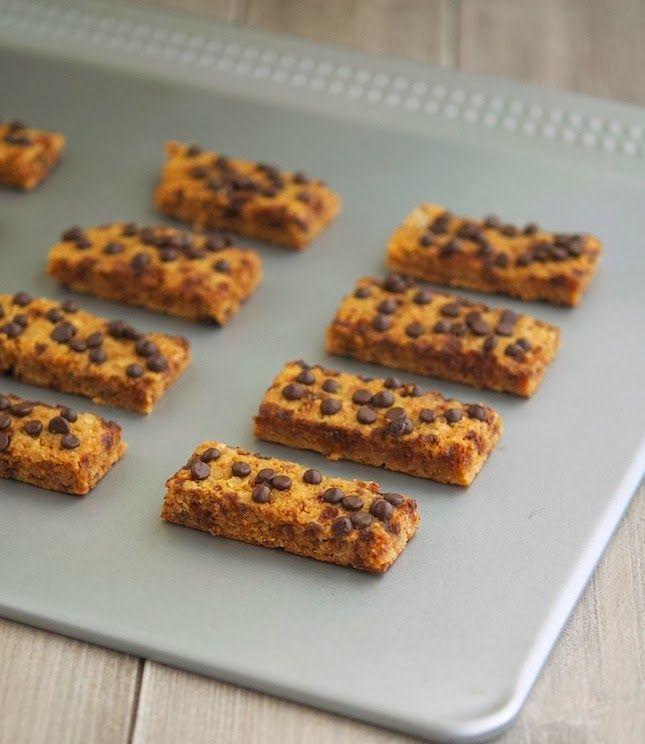 Choc Chip Cookie Sticks - almond flour, coconut sugar, 1 egg, cacao ...
