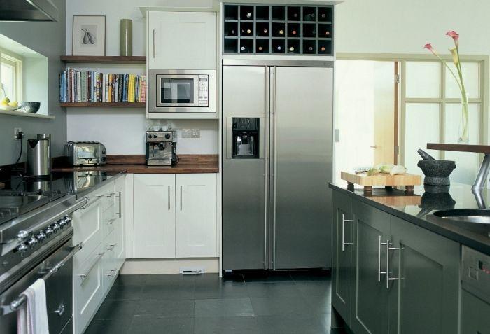 Il sogno di alice nella prossima casa voglio - Cucina con frigo americano ...