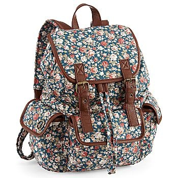 olsenboye floral backpack