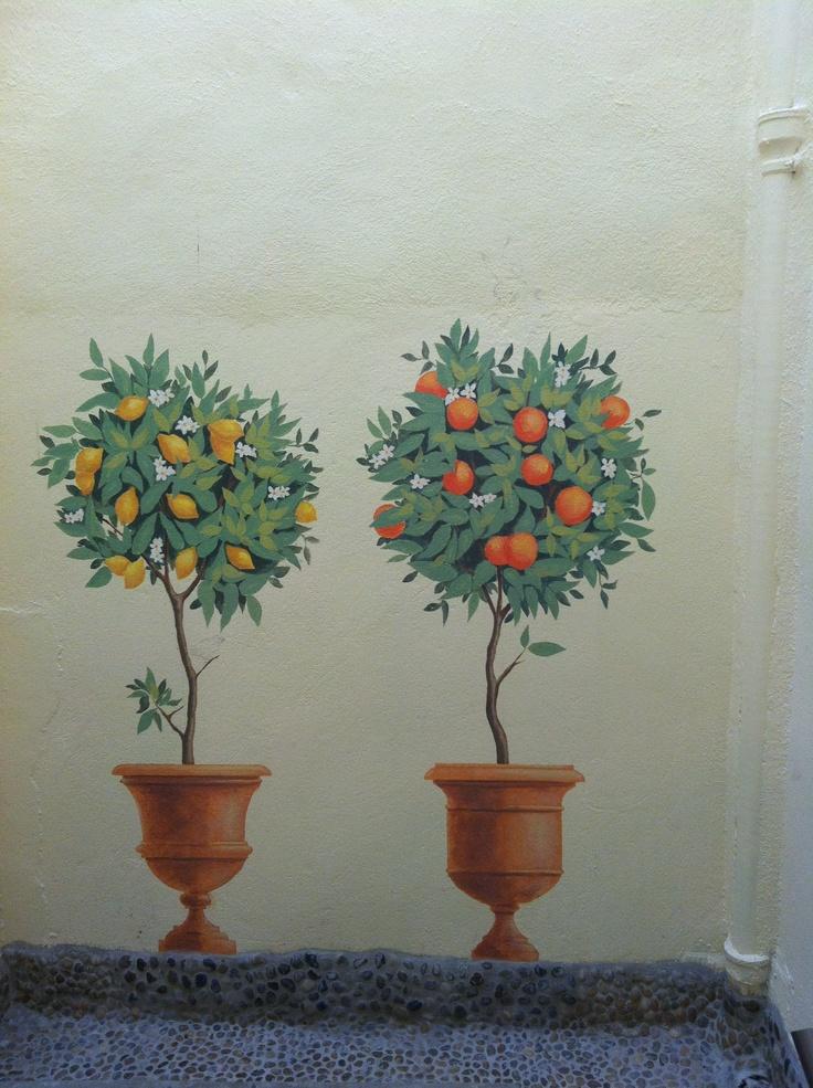 Montpellier - trompe l'oeil