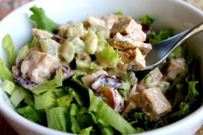 Grape and Brazil Nut Chicken-Less Salad. | ☺Salads & Sandwiches ...