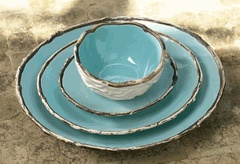 eek! birds nest bowls and plates - LOVE!