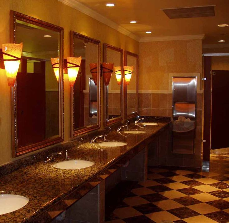 Commercial Restroom Design Ideas  Hospitality and Commercial