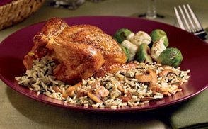 Long Grain And Wild Rice With Mushrooms And Shallots Recipes ...