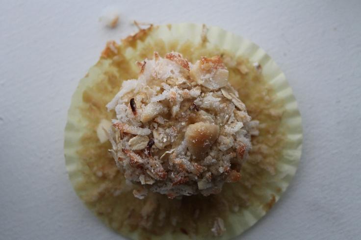 Maui Muffins - bananas, pineapple, coconut, macadamia nuts!