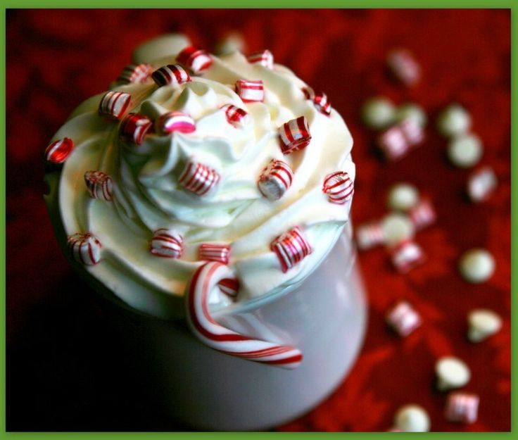 Peppermint White Hot Chocolate | Wet your Whistle! HOT! ☕️ ...