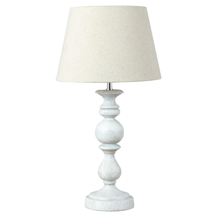 George Home Grey Classic Table Lamp