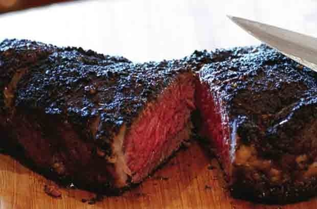 Coffee-rubbed Bison Steak | Game On - Lamb, Bison, Venison & Others ...
