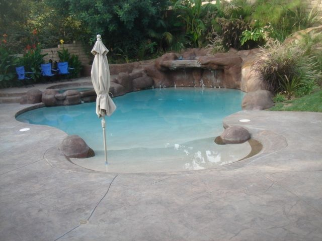 Beach Entry Swimming Pool Designs - Home & Furniture Design ...