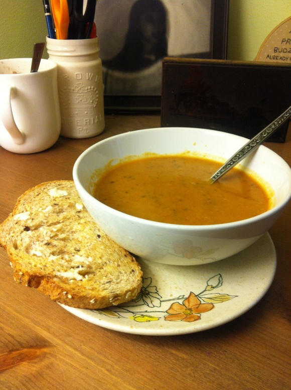 Squash, Sweet Potato And Carrot Soup Recipe — Dishmaps