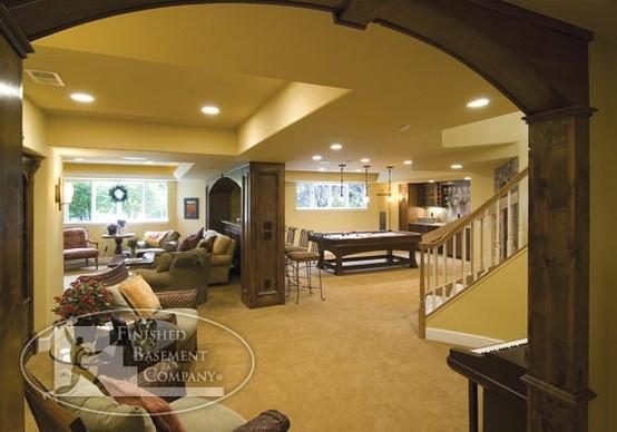 basement family room basement ideas pinterest