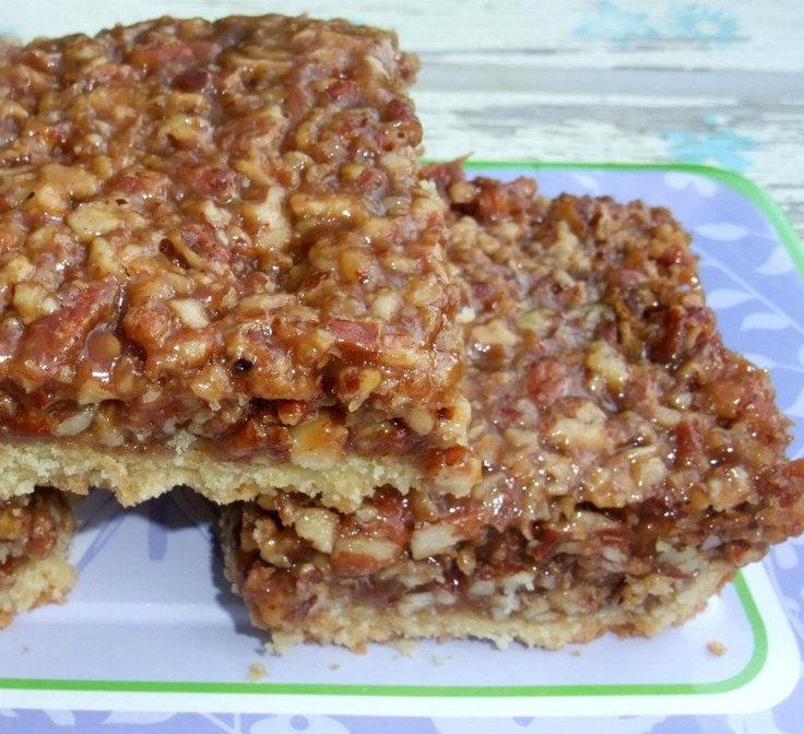 Southern Pecan Pie Bars | recipes | Pinterest