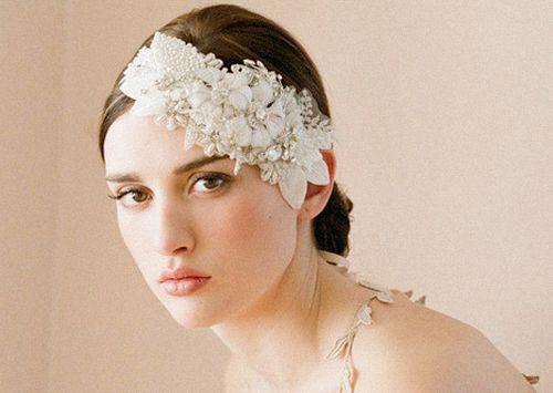 wedding hair embellishment | Tocados | Pinterest