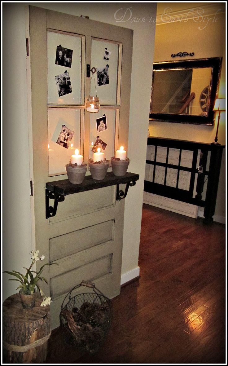 Foyer Door : Old door foyer display for the home pinterest
