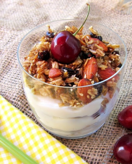Almond Cranberry Granola | Granola Bars | Pinterest