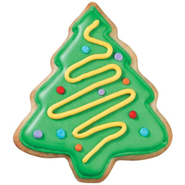 Christmas Tree Cookies | Recipe