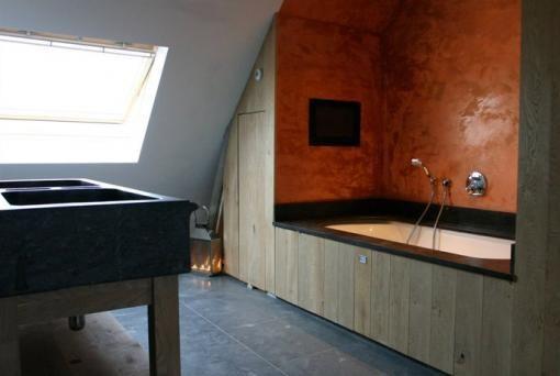 Badkamer Laten Betegelen ~ badkamer  interior ideas  Pinterest